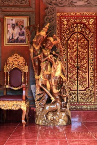 Palace du roi, Puri Saren Rangki