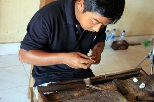 orfèvrerie à Mas près d'Ubud