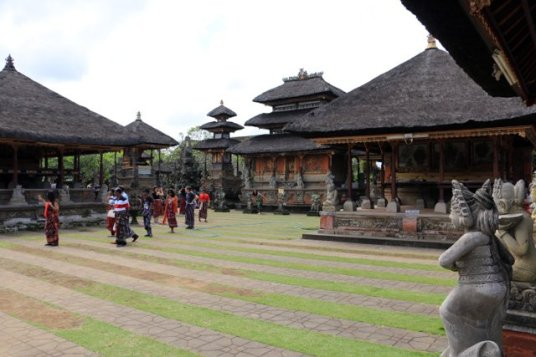 Temple Pura Taman Pule à Mas près d'ubud