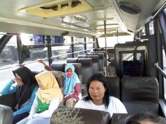 bus pour Borobudur