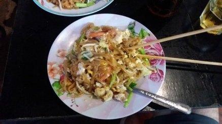 Pad Thaï, pâtes de riz frits (Thaïlande)