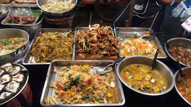 Plats variés - Street food (Thaïlande)