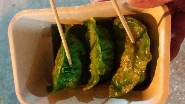 Raviolis aux légumes - Street food (Thaïlande)