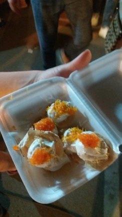 Dessert thaïlandais trouvé sur le marché (Thaïlande)