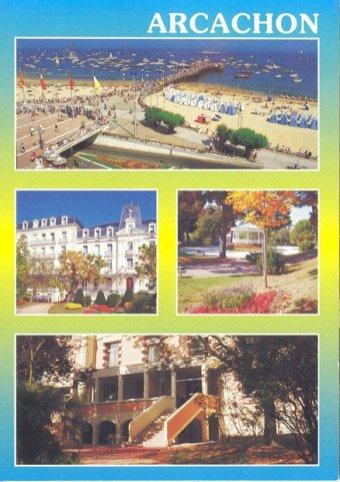 Carte postale de d Arcachon