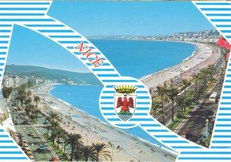 Carte postale de Nice