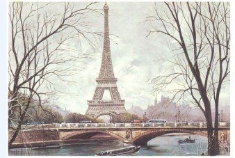 Carte postale de Paris