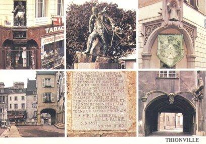 Carte postale de Thionville