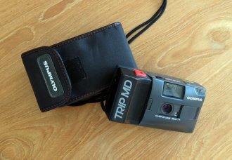 L'appareil photo argentique que j'avais acheté pour ce tour de France (mai 1991)