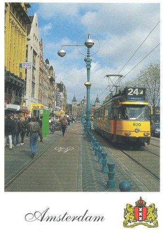 Carte postale d'Amsterdam (RDV n°5 - Mes voyages avant...Internet...suite et fin)