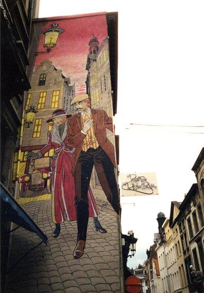 Bruxelles, capitale de la BD (RDV n°5 - Mes voyages avant...Internet...suite et fin)