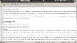 Notepad++ pour Windows émulé avec Wine