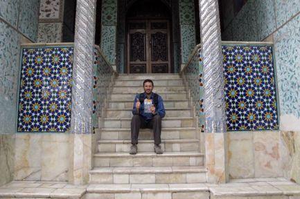 au palais du Golestan