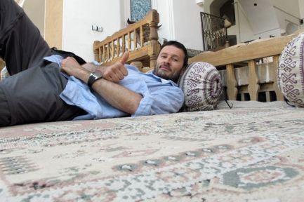 trop dure la vie dans mon hôtel à Yazd