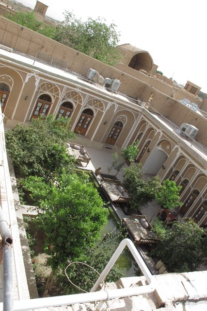 mon hôtel à Yazd