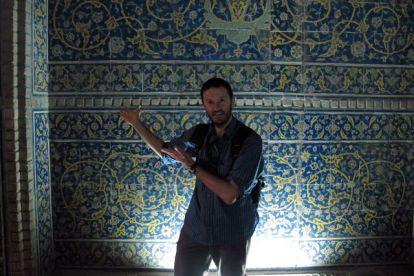 suivez le guide, visite d'une mosquée à Ispahan - l'autre ailleurs en Iran, une autre idée du voyage