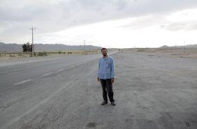 au milieu de nulle part entre Shiraz et Yazd