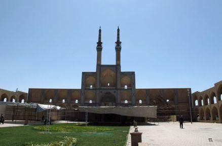 mosquée à Yazd - l'autre ailleurs en Iran, une autre idée du voyage
