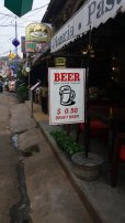 pas trop chère la bière à Siem Reap - L'autre ailleurs au Cambodge