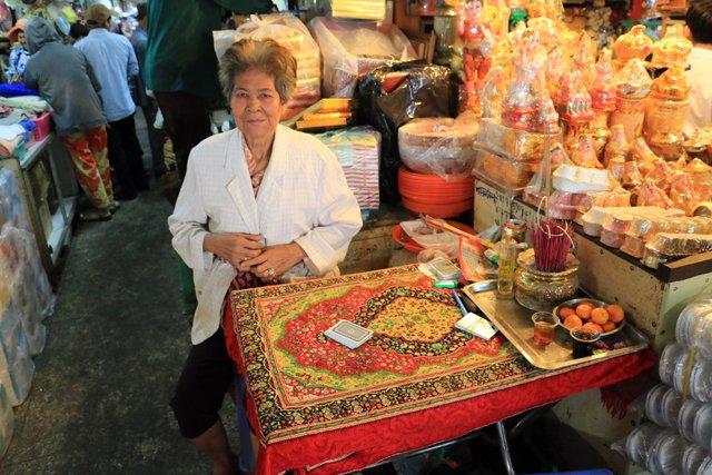 Marché couvert Orussey dit marché russe - L'autre ailleurs au Cambodge