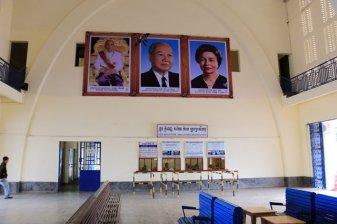 la gare de train, mais où sont les voyageurs ? - L'autre ailleurs au Cambodge
