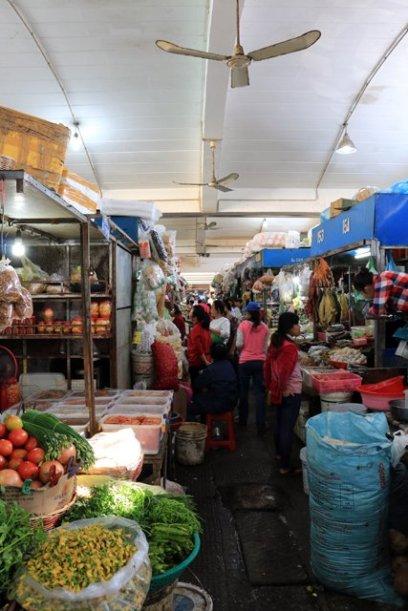 marché central à Phnom Penh - L'autre ailleurs au Cambodge