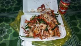 1Kg de crabe sauce au poivre, j'avoue ça fait beaucoup pour une personne :)