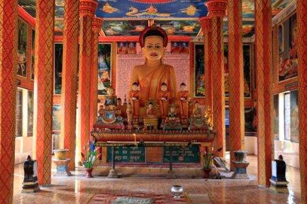 temple Lolei accéssible en scooter électrique depuis Siem Reap