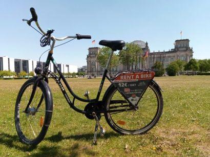 Vélo loué à mon hôtel , Olivaer Apart Hotel (http://www.autre-ailleurs.fr)