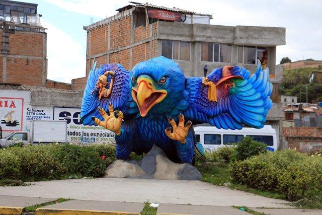 Ipiales, près du terminal des bus - l'autre ailleurs en Colombie, une autre idée du voyage