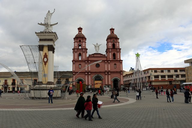 le centre ville d'Ipiales - l'autre ailleurs en Colombie, une autre idée du voyage