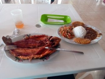 agréablement surpris par cet excellent repas pour 4€ lors de la pause déjeuner sur la route entre Ipiales Popayàn - l'autre ailleurs en Colombie, une autre idée du voyage