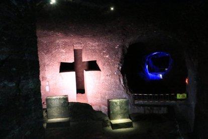 la Cathédral de sel à Zipaquirá - l'autre ailleurs en Colombie, une autre idée du voyage