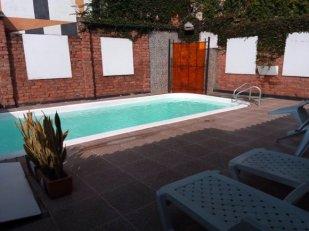 la piscine de ce superbe hôtel, Torre del viento, à Cali - l'autre ailleurs en Colombie, une autre idée du voyage