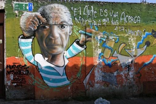 street art dans le quartier San Antonio Cali - l'autre ailleurs en Colombie, une autre idée du voyage