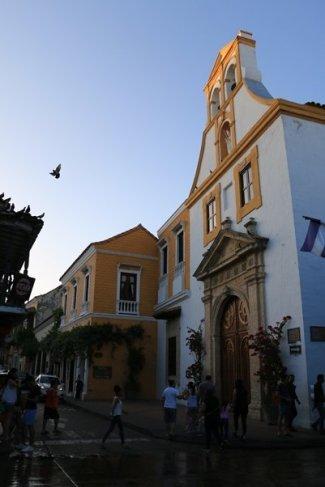 cloître Santo Toribio à Carthagène des Indes - l'autre ailleurs en Colombie, une autre idée du voyage