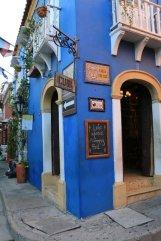 au coin de la maison bleue à Carthagène des Indes - l'autre ailleurs en Colombie, une autre idée du voyage