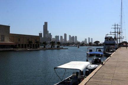 le port de plaisance de Carthagène des Indes - l'autre ailleurs en Colombie, une autre idée du voyage
