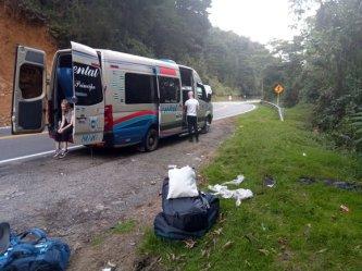 terminus, tout le monde descend :( juste avant d'arriver à Medellín - l'autre ailleurs en Colombie, une autre idée du voyage