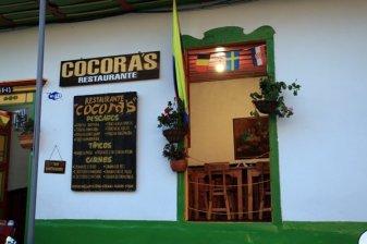 un restaurant à Salento - l'autre ailleurs en Colombie, une autre idée du voyage