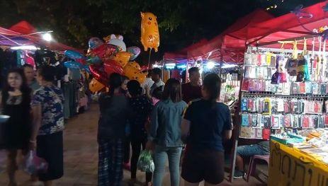 night market de Vientiane - l'autre ailleurs, une autre idée du voyage