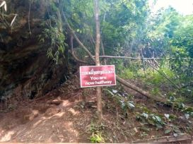 chemin pour accéder au point de vue sur la ville de Nong Khiaw , encore la moitié du chemin à parcourir :( - l'autre ailleurs, une autre idée du voyage