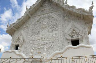 un temple près de l'énorme Bouddha blanc près de Chiang Rai - l'autre ailleurs, une autre idée du voyage