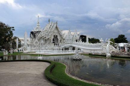 Le temple blanc près de Chiang Rai - l'autre ailleurs, une autre idée du voyage