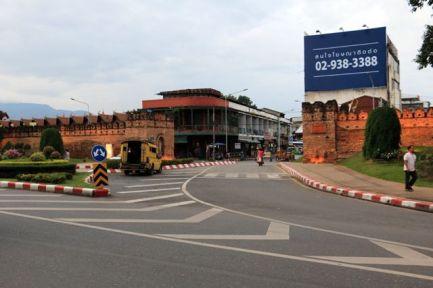 porte d'entrée de la veille ville, Chaing Mai - l'autre ailleurs, une autre idée du voyage