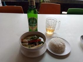 Mon premier curry vert aux fruits de mer au restaurant Lemongrass Thai Cuisine à Chiang Mai- l'autre ailleurs, une autre idée du voyage