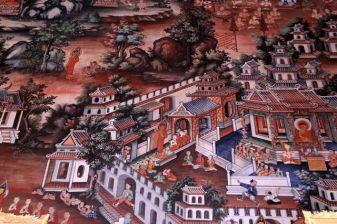 dans un temple à Bangkok - l'autre ailleurs, une autre idée du voyage