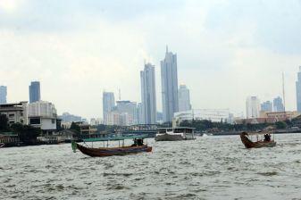 le fleuve Chao Phraya à Bangkok - l'autre ailleurs, une autre idée du voyage