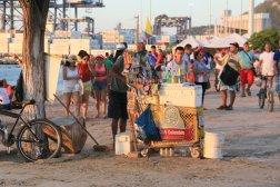 bord de mer à Santa Marta - l'autre ailleurs en Colombie, une autre idée du voyage