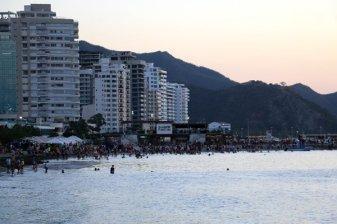 une plage à Santa Marta - l'autre ailleurs en Colombie, une autre idée du voyage